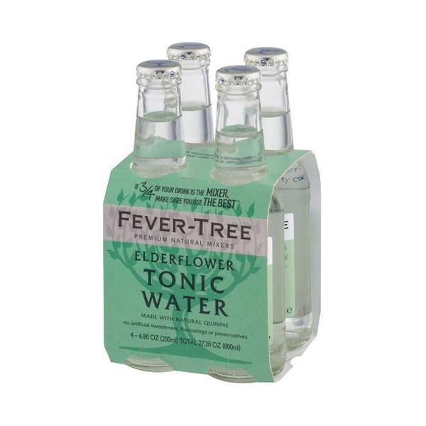 Fever-Tree Elderflower 20 Cl 4-Pack - Ginsonline - Tonic