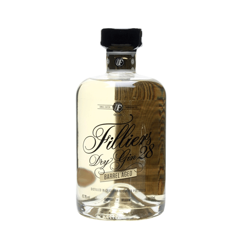 Filliers Dry Gin 28 Barrel Aged 43,7° 50Cl - Ginsonline - Gin
