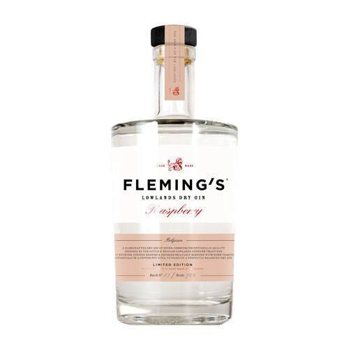 Fleming's Dry Gin Raspberry 38,1° 50Cl - Ginsonline - Gin