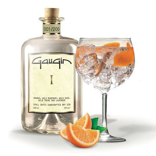 GauGin I 42° 50 cl - Ginsonline - Gin