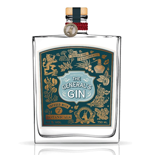 The General's gin 43° 75 Cl