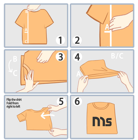 2-Second Folding Method (Lazy Method) – How to Fold a Shirt Quickly