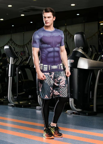 Batman Workout Compression T Shirts for Men 1