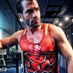 Rider Iskandar Workout Compression Tank Tops(2018)