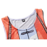Kame Sennin Workout Compression Tank Tops for Men