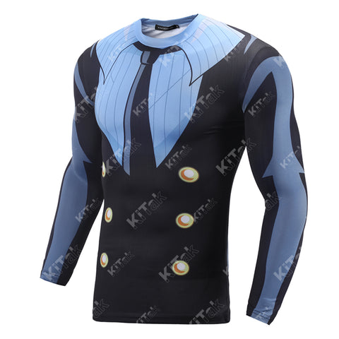 Sanji Workout Compression Long Sleeves