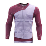 Naruto Gaara Workout Compression Long Sleeves