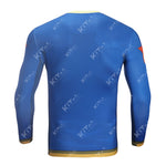 YAGAMI TAICHI Fashion Workout Compression Long Sleeves