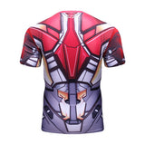 Iron Man Cosplay Training Compresson T-Shirts for Men Fitness 5