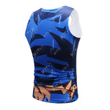 Ultra Instinct Goku Workout Compression Tank Tops