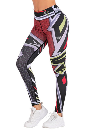Wonder Woman Cosplay Training Compression Leggings for Women Fitness 7