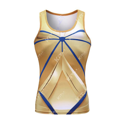 Archer Gilgamesh Workout Compression Tank Tops