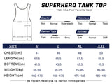 Thanos Cosplay Training Compression Tank Tops for Men Fitness(2018 Avengers Infinity War)