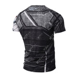 Winter Soldier Workout Compression T Shirts