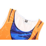 Goku Roshi's kanji Workout Compression Tank Tops