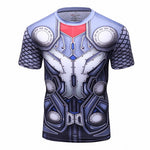 Thor Cosplay Training Compresson T-Shirts for Men Fitness 2