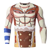 Usopp Workout Compression Long Sleeves