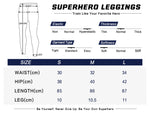 Superman Workout Compression Leggings for Women 1