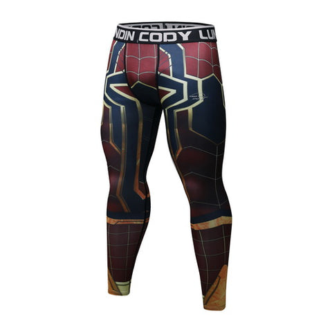 Spider-Man Workout Compression Leggings for Men 2