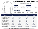 Shazam Cosplay Training Compression Long Sleeves for Men Fitness 01