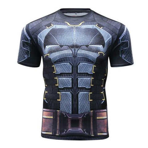 Batman Workout Compression T Shirts for Men 10