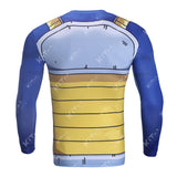 Vegeta Cell Workout Compression Long Sleeves
