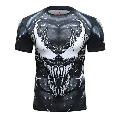 Venom Workout Compression T Shirts for Men 3
