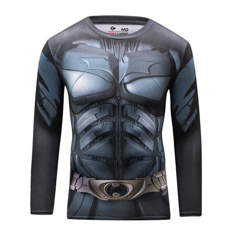 Batman Workout Compression Long Sleeves for Men 2