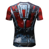Anti-Man Cosplay Training Compression T-Shirts for Men Fitness - Cosplay Fitness | KiTak
