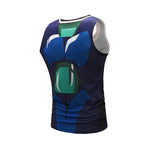 DBS Armoured Broly Workout Compression Tank Tops for Men (DRAGON BALL FighterZ)