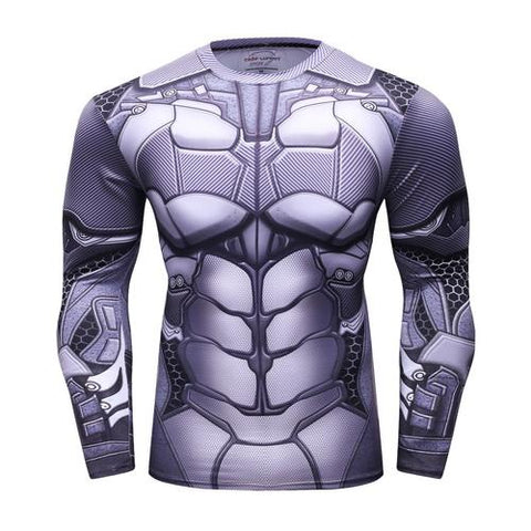 Batman Workout Compression Long Sleeves for Men 4