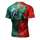 Fashion Hulk Workout Compression T Shirts