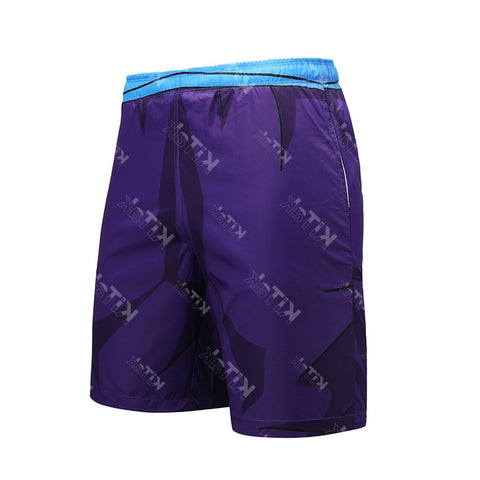 Anime Training Gohan Costume Workout Beach Shorts for Men