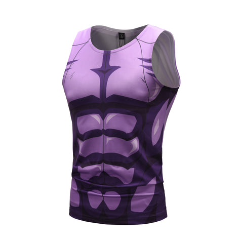 Hit Workout Compression Tank Tops