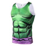 Hulk Workout Compression Tank Tops for Men