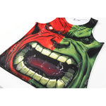 Fashion Hulk Workout Compression Tank Tops