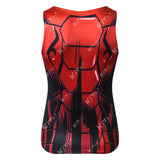 Iron Man Workout Compression Tank Tops