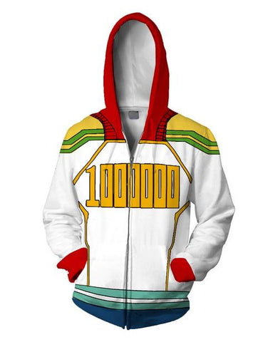 Lemillion Training Warm Up Full Zip Hoodies - Unisex Fitness - Cosplay Fitness | KiTak