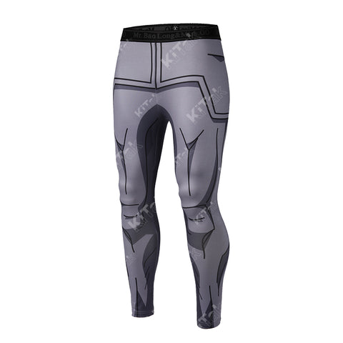 Vegeta RF Workout Compression Leggings for Men