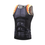 ONYX Xeno Gogeta Workout Compression Tank Tops for Men