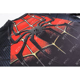 Spider-Man Workout Compression T Shirts for Men 2(Black-Red)