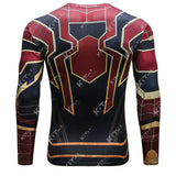 Spider-Man Workout Compression Long Sleeves (2018 Avengers: Infinity War)