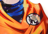 Super Saiyan God Goku Workout Compression Tank Tops for Men