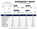 Batman V Superman Cosplay Training Compression T-Shirts for Men Fitness 1 - Cosplay Fitness | KiTak