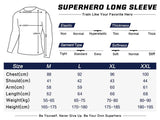 Anti-Man Cosplay Training Compression Long Sleeves for Men Fitness - Cosplay Fitness | KiTak