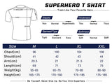 Superman Workout Compression T Shirts for Men
