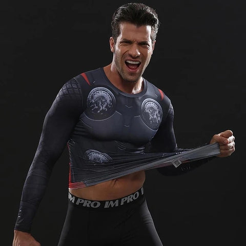 Thor Workout Compression Long Sleeves for Men 1