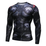 Thor Workout Compression Long Sleeves for Men