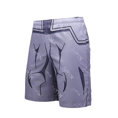 Vegeta Resurrection F Workout Basketball Shorts for Men