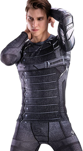 Winter Soldier Workout Compression Long Sleeves 1
